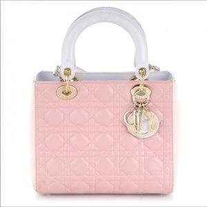 Dior Lady Dior tricolor special medium size new
